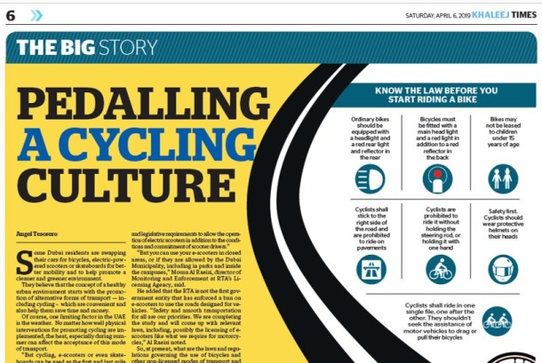 Bicycle - KT article 6-Apr-2019