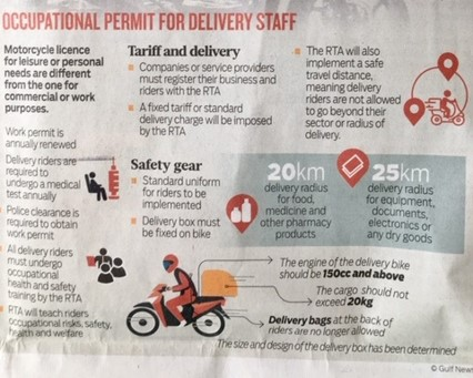 GN Jan 2021 RTA New Rules Delivery Riders - INFOGRAPHIC