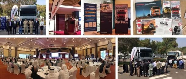 Dubai Police & MAN & RoadSafetyUAE - TRUCK SAFETY EVENT