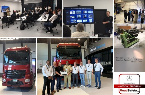 2019 MB Trucks Global and Regional Meeting ... Collage