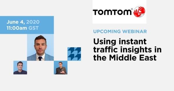 TomTom's Webinar 4-June-2020 ... for LinkedIn with TomTom logo